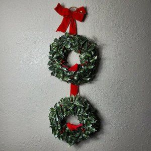 Christmas Decoration Cardinal Wreath
